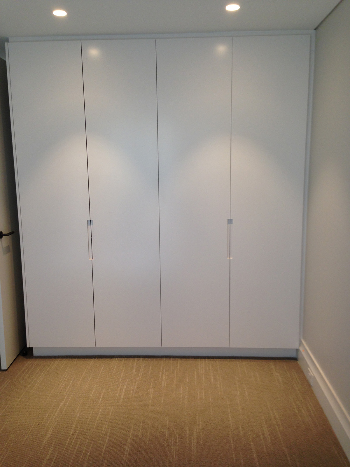 Plain Hinged Doors with Recessed Grip